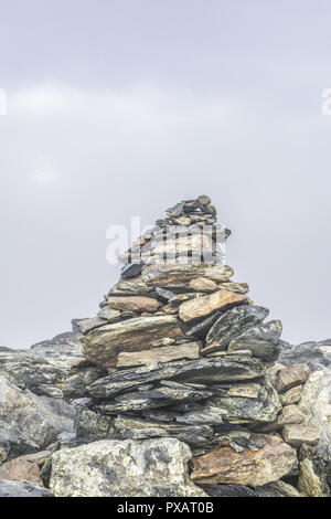 Mountain Matterhorn, Monte Cervino, Mont Cervin, 4.478 m, Rotenboden, Pennine Alps, Zermatt, Valais, Switzerland - Stock Photo