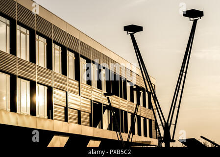 DC Tower, Danube City, Vienna, Austria - Stock Photo