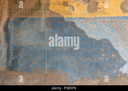 Armenia, Yerevan, Erebuni Fortress, Erebuni Museum of History, painting display - Stock Photo