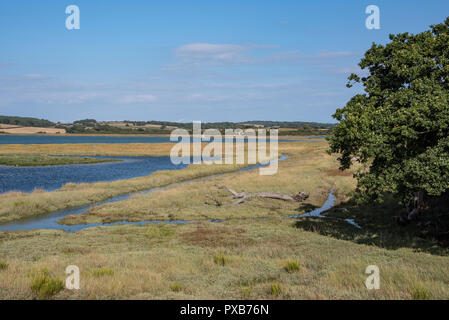 Newtown Harbour, Isle of Wight, England - Stock Photo