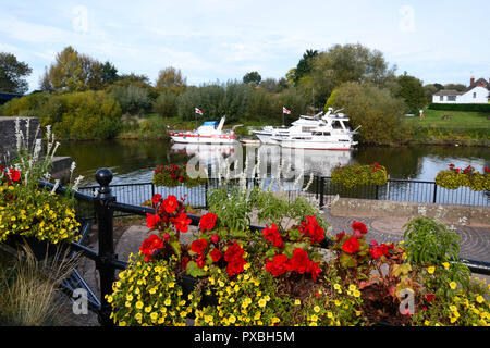 Upton upon Severn, Malvern Hills, Worcestershire - Stock Photo
