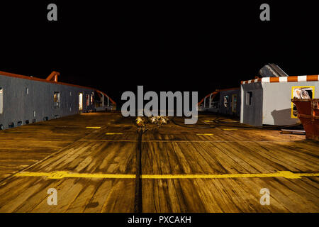 Anchor-handling Tug Supply AHTS vessel ready for job - Stock Photo