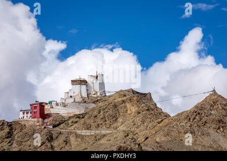 Namgyal Tsemo Gompa, Leh, Ladakh, Kashmir, India Stock Photo