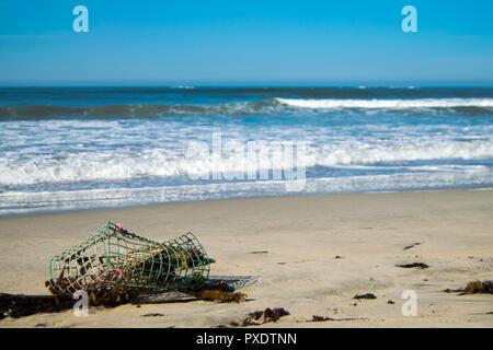 Ofir beach in Portugal, surf spot - Stock Photo
