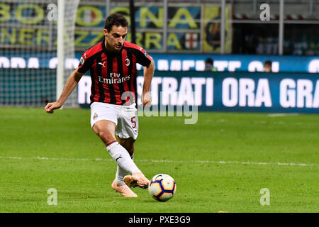 Giacomo Bonaventura (AC Milan) during the Serie A TIM football match between FC Internazionale Milano and AC Milan at Stadio Giuseppe Meazza on 21th October, 2018 in Milan, Italy.