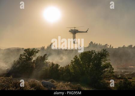 Air Attack - Stock Photo