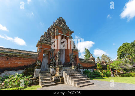 Taman Ayun Temple, a royal temple of Mengwi Empire located in Badung regency one of the places of interest in Bali, Indonesia. - Stock Photo