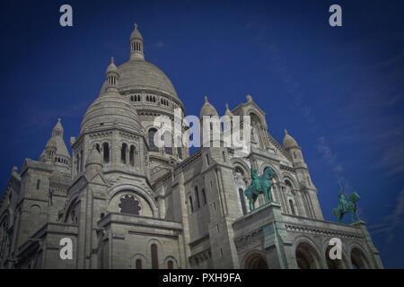 Summer Streets of Paris, France - Stock Photo