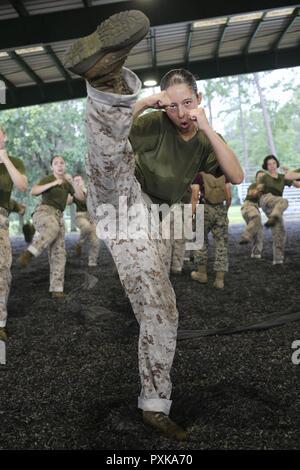 U S Marine Corps Rct Rhiannah Shihadeh With Platoon 4028 Papa