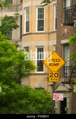 Prospect Heights neighborhood Brooklyn NYC - Stock Photo