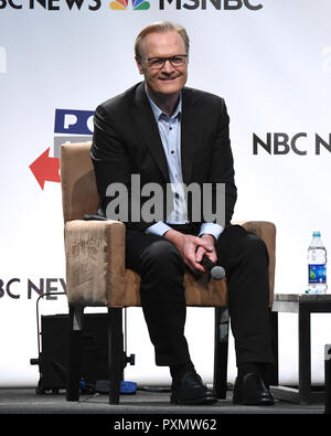 Lawrence O'Donnell onstage at Politicon 2018 at the LA convention Center on October 20, 2018 in Los Angeles, California. - Stock Photo