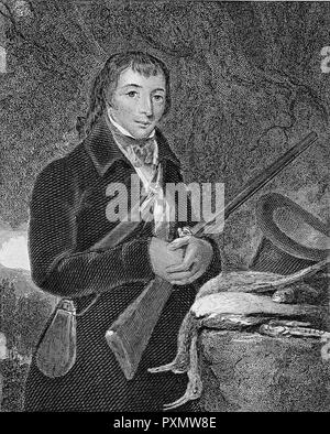 ALEXANDER WILSON (1766-1813) Scottish-American ornithologist and artist - Stock Photo