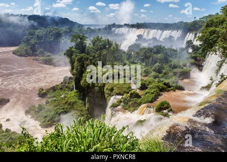 Iguazu Falls, Puerto Iguazu, Misiones, Argentina