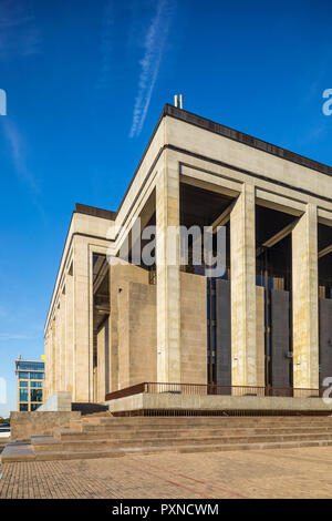 Palace of Republic, Minsk, Belarus - Stock Photo