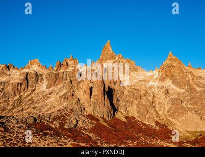 Cerro Catedral, Nahuel Huapi National Park, Rio Negro Province, Argentina - Stock Photo