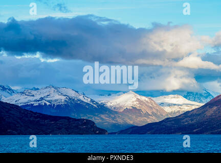Lake Argentino, Los Glaciares National Park, Santa Cruz Province, Patagonia, Argentina - Stock Photo