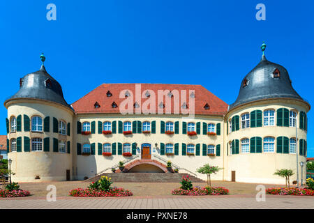 Chateau Bergzabern, Bad Bergzabern, Deutsche Weinstraße, Rhineland-Palatinate, Germany - Stock Photo