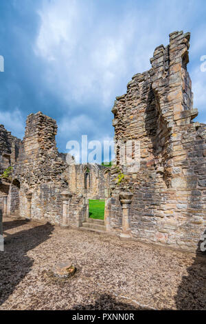 Finchale Priory, Durham, England, United Kingdom, Europe - Stock Photo