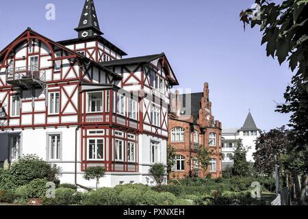 Deutschland, Mecklenburg-Vorpommern, Ostsee, Insel Ruegen, Ostseebad Binz - Stock Photo