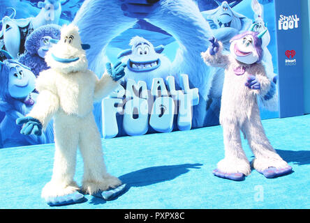 Los Angeles premiere of 'Smallfoot' - Arrivals  Featuring: Atmosphere Where: Los Angeles, California, United States When: 22 Sep 2018 Credit: Adriana M. Barraza/WENN.com - Stock Photo