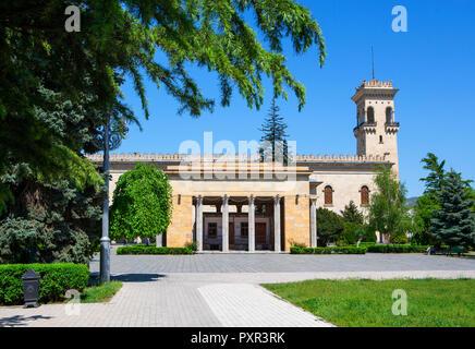Georgia, Gori, Stalin's Birthplace and Stalin museum - Stock Photo