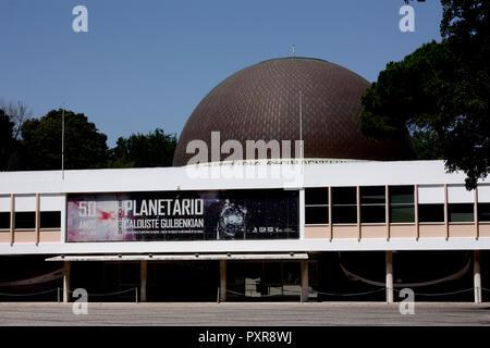 Planetário Calouste Gulbenkian - Centro de Ciência Viva, Belem, Lisbon, Portugal - Stock Photo