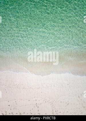Indonesia, Bali, Aerial view of Karma beach - Stock Photo