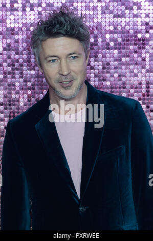 London, UK. 23rd October 2018. Aidan Gillen attends the World Premiere of 'Bohemian Rhapsody' at the SSE Arena Wembley in London. Credit: Wiktor Szymanowicz/Alamy Live News - Stock Photo