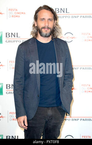 Rome, Italy. 24th October, 2018. Rome, Italy. 24th Oct 2018. Fede Alvarez attends 'The Girl In The Spider'™s Web' photocall during the 13th Rome Film Fest at Auditorium Parco Della Musica on October 24, 2018 in Rome, Italy. Credit: Geisler-Fotopress GmbH/Alamy Live News - Stock Photo