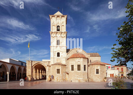 Greek Orthodox Lazarus Church, Agios Lazaros, Larnaka, Southern Cyprus, Cyprus - Stock Photo