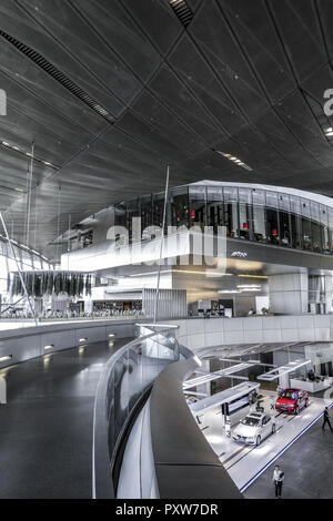 BMW-Welt, Auslieferungs- und Erlebniszentrum, München, Bayern, Deutschland, Europa (www.allover.cc/TPH) - Stock Photo