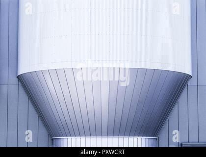Architekturdetail, Metallverkleidungen - Stock Photo