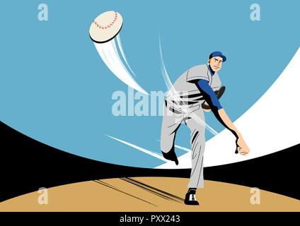 Various sports players with dynamic colorful scratched vector illustration 004 - Stock Photo