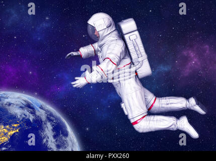 astronaut in deep space - photo #5