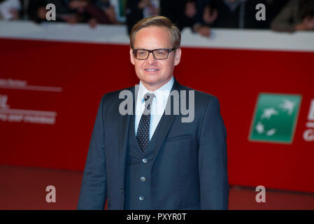 Rome, Italy. 24th Oct 2018. The director Jon S. Baird attending the red carpet of Stan & Ollie at Rome Film Fest 2018 Credit: Silvia Gerbino/Alamy Live News - Stock Photo