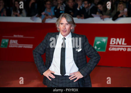 Rome, Italy. 24th Oct 2018. Steve Coogan attending the red carpet of Stan & Ollie at Rome Film Fest 2018 Credit: Silvia Gerbino/Alamy Live News - Stock Photo
