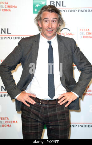 Rome, Italy. 24th October, 2018. Steve Coogan attends the 'Stan & Ollie' photocall during the 13th Rome Film Fest at Auditorium Parco Della Musica on October 24, 2018 in Rome, Italy. Credit: Geisler-Fotopress GmbH/Alamy Live News - Stock Photo