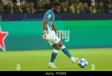 Dortmund, Germany. 24th October, 2018. Thomas Lemar (Atlético Madrid)  during the UEFA Champions League, Group A football match between Borussia Dortmund and Atletico de Madrid on October 24, 2018 at Signal Iduna Park in Dortmund, Germany - Photo Laurent Lairys / DPPI Credit: Laurent Lairys/Agence Locevaphotos/Alamy Live News - Stock Photo