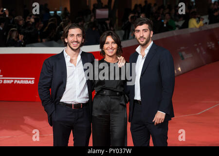 Rome, Italy. 24th Oct 2018. Red carpet of Green Book at Rome Film Fest 2018 Credit: Silvia Gerbino/Alamy Live News - Stock Photo