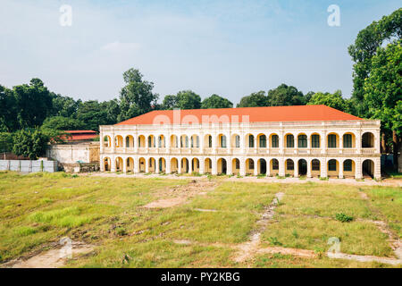 Thang Long Imperial City in Hanoi, Vietnam - Stock Photo