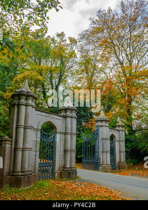 Howth Castle and Grounds - Stock Photo