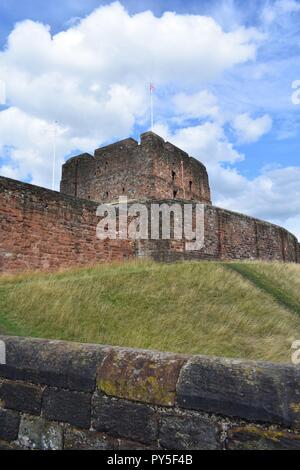 The Carlisle Castle - Stock Photo