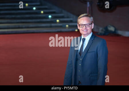 Rome, Italy. October 24, 2018: Jon Baird walk a red carpet  of the movie 'Stan & Ollie' at Rome Film Fest 2018. Credit: Gennaro Leonardi/Alamy Live News - Stock Photo