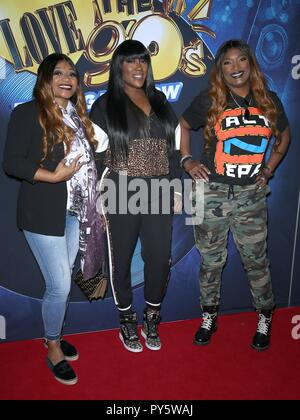 Las Vegas, NV, USA. 25th Oct, 2018. SWV at arrivals for Salt-n-Pepa's I Love The '90s - The Vegas Show Opening Night, The Paris Theater, Las Vegas, NV October 25, 2018. Credit: MORA/Everett Collection/Alamy Live News - Stock Photo