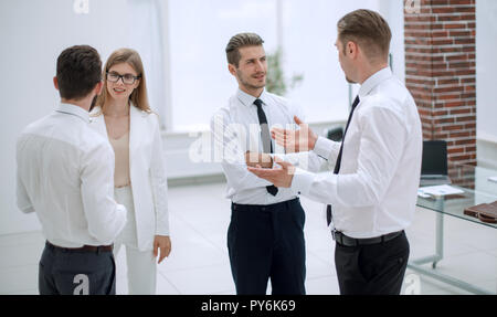 business team discussing new ideas - Stock Photo