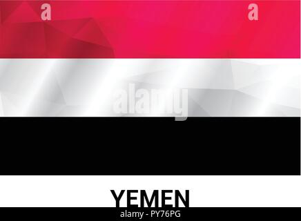 Yemen Independence day design card vector - Stock Photo