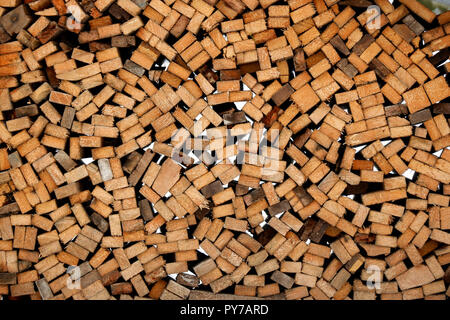 Wood Stack - Stock Photo