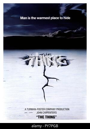 Original film title: THE THING. English title: THE THING. Year: 1982. Director: JOHN CARPENTER. Credit: UNIVERSAL PICTURES / Album