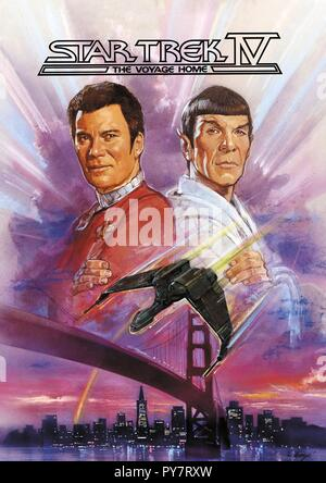 Original film title: STAR TREK IV: THE VOYAGE HOME. English title: STAR TREK IV: THE VOYAGE HOME. Year: 1986. Director: LEONARD NIMOY. Credit: PARAMOUNT PICTURES / Album - Stock Photo