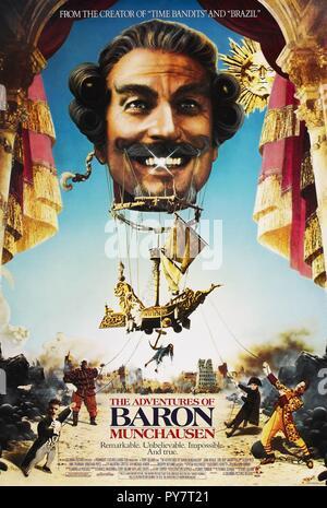 Original film title: THE ADVENTURES OF BARON MUNCHAUSEN. English title: THE ADVENTURES OF BARON MUNCHAUSEN. Year: 1988. Director: TERRY GILLIAM. Credit: COLUMBIA PICTURES / Album